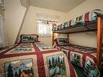 Breezy Two Bedroom 3- Twin Bunk Plus Twin Single