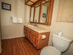 Shared Master Full Bath Downstairs