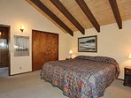 Bedroom 2- (Upstairs) King Bed