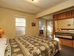 Bedroom 1- King Bed,TV