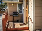 Front Deck with Gas BBQ!