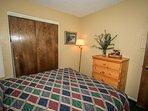 Bedroom 2- Dresser Space
