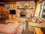 Living Room TV / DVD Plus Fireplace