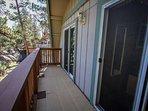 Bedroom 2- Deck View