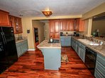 Updated Appliances, Custom Floors