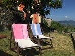 Rosso su Portofino - Giardino attrezzato