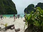 Beach from Phi Phi island