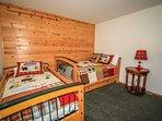 Bedroom 3: Full Bed Plus Twin Bed, TV/DVD