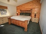 Bedroom 1: Master Suite- King Bed, TV/DVD, Private Bath With Spa Tub