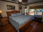 Master Bedroom- King Bed - with lake views