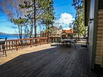 Large Lakeview Deck