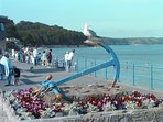 Saundersfoot beach is great for all the family.