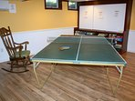 Family Room ~ Ping Pong Table