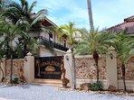 Sibaja Palms Sunset Beach Entrance