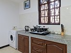 Fully equipped kitchen villa