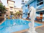 Swimming pool villa with kid's pool