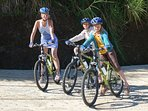 Bicycling is a fun and popular way to scoot around the Island. Miles of bike trails to adventures.