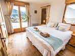 Beautiful double bedroom with balcony