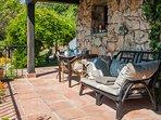 The Casita terrace