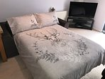 Double Sofa Bed - super comfortable and relaxing for a great nights sleep..