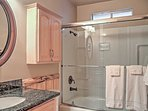 The 2 bathrooms provide ample space to get ready.
