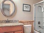 Find privacy with the en-suite bathroom.