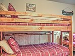 Your kids will love the bunk room!