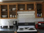 fullly equipped  kitchen