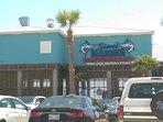 Steve's Marina Seafood Restaurant---5 blocks.