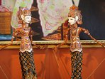 Details of Balinese art and antiques surrounding you
