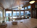 Cooking with an ocean view.