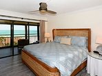 Master Bedroom with Full Beach and Gulf View!