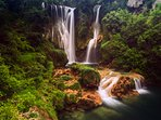 Surrounding of beautiful Krka national park