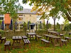 After a hard day's sightseeing why not enjoy a pint of real ale at the nearby Blue Boar Inn?