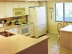 Fully-equipped kitchen allows you to prepare meals if you prefer.