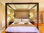 Maple Cottage Studio Main Bed 2
