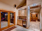 Wet Bar and Foyer