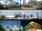 An one hour easy drive puts you in New Orleans for a great day trip.