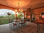 Patio fire place/grill