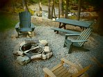 Fire Pit Area/ADK Chairs