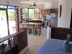 2nd floor suite full kitchen