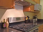 Kitchen is perfect for cooking and entertaining family and friends