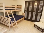 2nd room with a Bunk bed (Full and Twin)