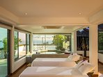 One Waterfall Bay - Spa room setting
