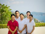 One Waterfall Bay - Attentive staff