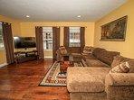 Living Room 2- Flat Screen TV & Comfy Furnishings