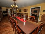 Fabulous Dining Room / Table For 14
