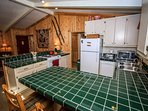 Fully Equipped Kitchen With Dishwasher, Microwave and Toaster