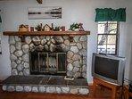 Wood Burning Fireplace- 2nd Level Living Room