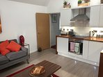 First floor 2 bed apartment recently refurbished.